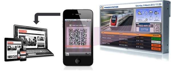 Δωρεάν πρόσβαση στο Internet μέσω WiFi και διαχείριση από Digital Signage